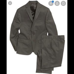 Ralph Lauren Boys Pinstripe Suit  Blazer Pant 12